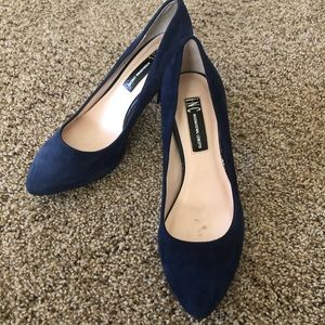 INC Zitah navy blue pumps. NWOB